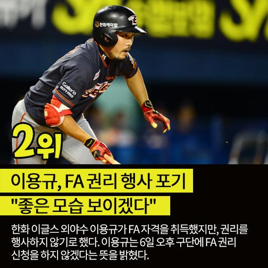 지난주 핫이슈, 한혜진-차우찬 공개연예 종지부