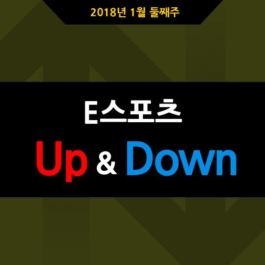 [카드뉴스] 1월 둘째주 e스포츠 UP&DOWN