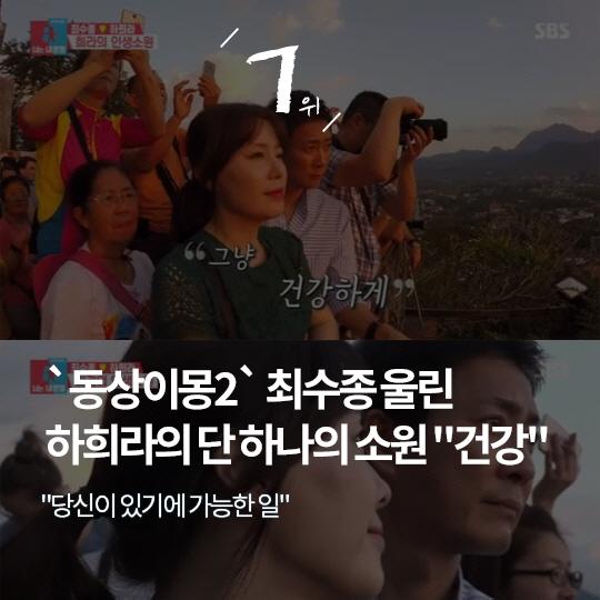 """지난주 핫이슈, 故조민기 """"딸에게 미안해"""""""