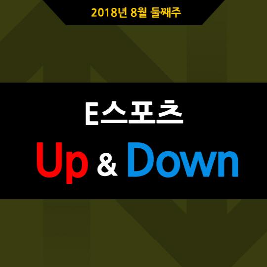 [카드뉴스] 2018년 8월 둘째주 E스포츠 UP&DOWN
