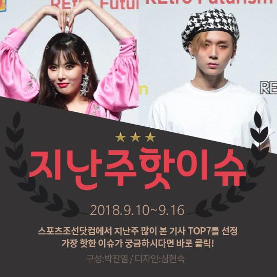 [카드뉴스] 지난주 핫이슈, 현아♥이던, 열애 인정이 불러온 '후폭풍'