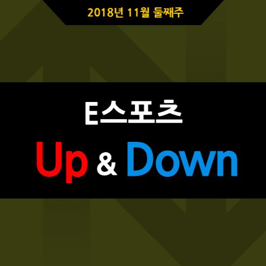 [카드뉴스] 2018년 11월 둘째주 E스포츠 UP&DOWN