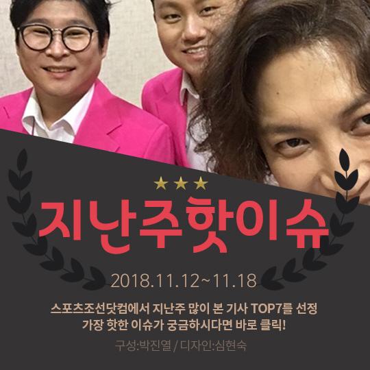 [카드뉴스] 지난주 핫이슈, 장미여관 3인