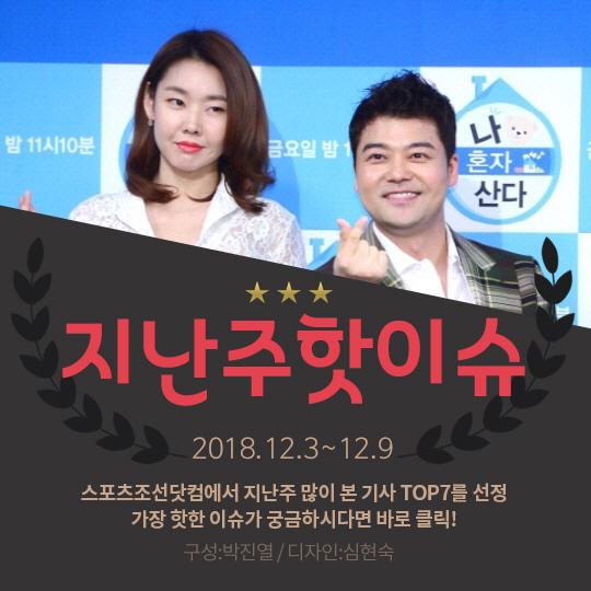 [카드뉴스] 지난주 핫이슈, 결별설 전현무-한혜진