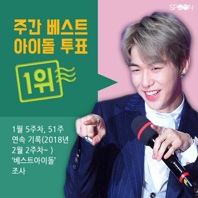 2019년 강다니엘 '1위 꽃길' 시작됐다!