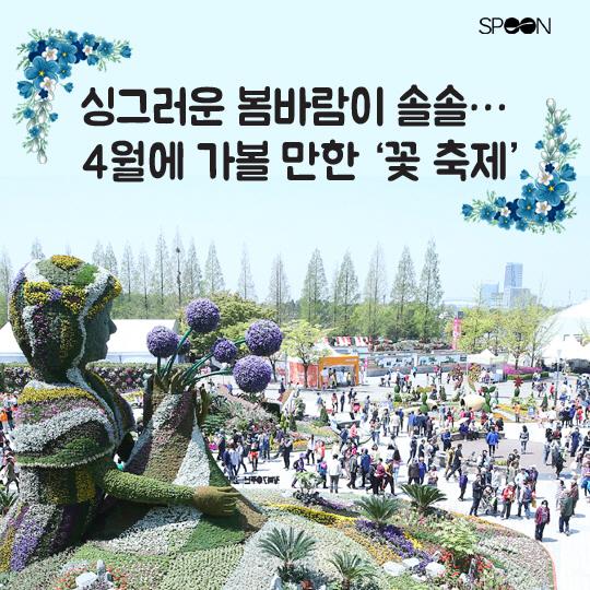 [카드뉴스] 싱그러운 봄바람 솔솔…4월에 가볼 만한 '꽃 축제'