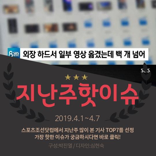[카드뉴스] 지난주 핫이슈, 제2의 정준영 단톡방 '충격'