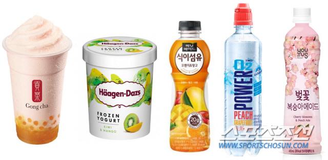 [SC셀럽]식음료업계, '과일+과일' 조합이 대세