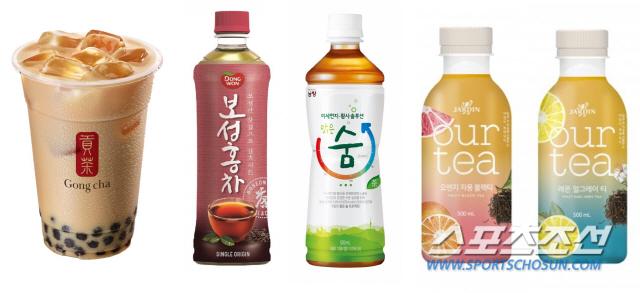 [SC셀럽]식음료업계, 티(Tea)음료가 뜬다