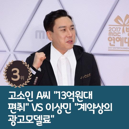 지난주 핫이슈, '궁셔리' 이상민, 사기 혐의 피소