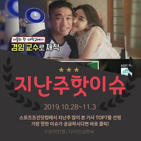 [카드뉴스] 지난주 핫이슈, 김건모 장인